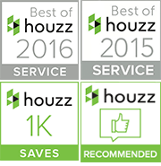 houzz Best of 2015+2016, 1K Saves, Recommended